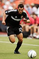 D.C. United's Dema Kovalenko. D.C. United defeated the NY/NJ MetroStars 6 to 2 at RFK Stadium, Washington, D.C., on July 3, 2004.