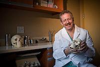 Lafayette College Alumni Profile: Dr.  Alex Greenberg in his 48th street NYC office.4371