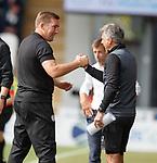 04.08.18 St Mirren v Dundee: Alan Stubbs and Darren jackson