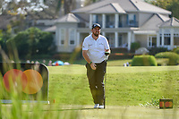 Shane Lowry (IRL) watches his tee shot on 18 during round 2 of the Arnold Palmer Invitational at Bay Hill Golf Club, Bay Hill, Florida. 3/8/2019.<br /> Picture: Golffile | Ken Murray<br /> <br /> <br /> All photo usage must carry mandatory copyright credit (&copy; Golffile | Ken Murray)