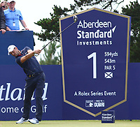 Martin Kaymer Germany 1st tee during the preview of the Aberdeen Standard Investments Scottish Open, Renaissance Club, North Berwick, East Lothian, Scotland. 11/07/2019.<br /> Picture Kevin McGlynn / Golffile.ie<br /> <br /> All photo usage must carry mandatory copyright credit (© Golffile | Kevin McGlynn)