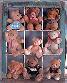 Interlitho, Alberto, CUTE ANIMALS, teddies, photos, 9 teddies.frame(KL16125,#AC#)