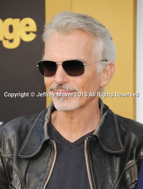 WESTWOOD, CA - JUNE 01: Actor Billy Bob Thornton arrives at the 'Entourage' - Los Angeles Premiere at Regency Village Theatre on June 1, 2015 in Westwood, California.