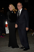 www.acepixs.com<br /> November 1, 2017  New York City<br /> <br /> Jerry Hall and Rupert Murdoch arriving to the WSJ Magazine 2017 Innovator Awards on November 1, 2017 in New York City.<br /> <br /> Credit: Kristin Callahan/ACE Pictures<br /> <br /> <br /> Tel: 646 769 0430<br /> Email: info@acepixs.com