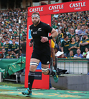 PRETORIA, SOUTH AFRICA - OCTOBER 06: Kieran Read (captain) of the New Zealand (All Blacks) during the Rugby Championship match between South Africa Springboks and New Zealand All Blacks at Loftus Versfeld Stadium. on October 6, 2018 in Pretoria, South Africa. Photo: Steve Haag / stevehaagsports.com