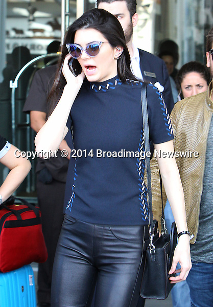Pictured: Kendall Jenner <br /> Mandatory Credit &copy; ACLA/Broadimage<br /> Khloe Kardashian arriving at Loews Hollywood Hotel<br /> <br /> 3/7/14, Hollywood, California, United States of America<br /> <br /> Broadimage Newswire<br /> Los Angeles 1+  (310) 301-1027<br /> New York      1+  (646) 827-9134<br /> sales@broadimage.com<br /> http://www.broadimage.com
