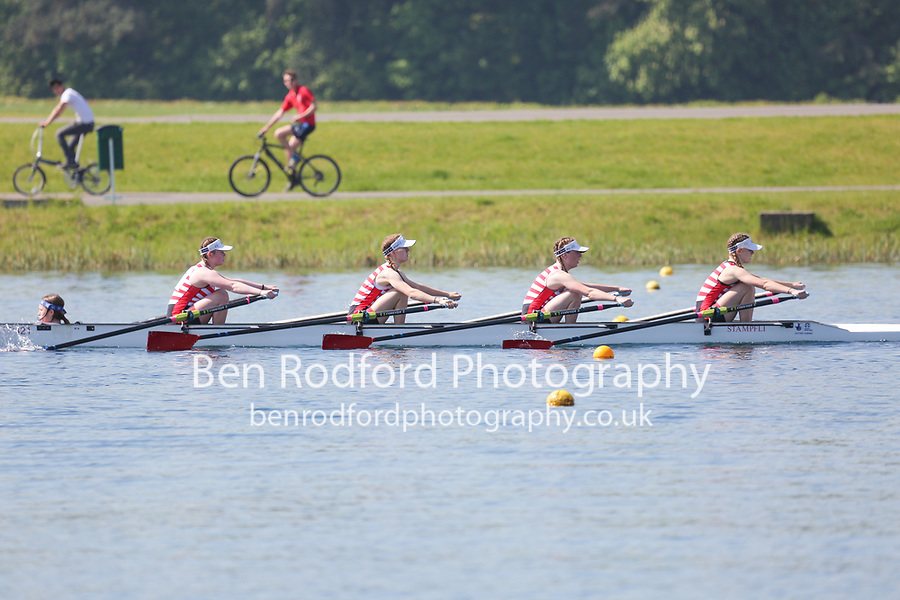 Race: 23  Event: WJ15 4x+  Time Trial<br /> <br /> Junior Sculling Regatta 2018<br /> <br /> To purchase this photo, or to see pricing information for Prints and Downloads, click the blue 'Add to Cart' button at the top-right of the page.