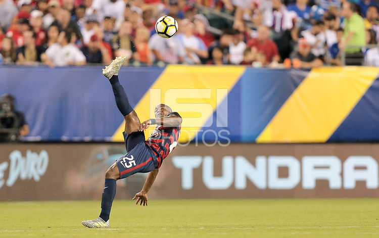 Philadelphia, PA - Wednesday July 19, 2017: Darlington Nagbe during a 2017 Gold Cup match between the men's national teams of the United States (USA) and El Salvador (SLV) at Lincoln Financial Field.