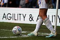 Leeds United's Kalvin Phillips takes a free kick<br /> <br /> Photographer Alex Dodd/CameraSport<br /> <br /> The EFL Sky Bet Championship - Leeds United v Birmingham City - Saturday 19th October 2019 - Elland Road - Leeds<br /> <br /> World Copyright © 2019 CameraSport. All rights reserved. 43 Linden Ave. Countesthorpe. Leicester. England. LE8 5PG - Tel: +44 (0) 116 277 4147 - admin@camerasport.com - www.camerasport.com
