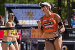 10.05.2015, Muenster, Schlossplatz<br /> smart beach tour, Supercup MŸnster / Muenster, Finale Frauen<br /> <br /> Jubel Ilka Semmler <br /> <br />   Foto &copy; nordphoto / Kurth