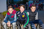 Pictured at the Halloween Festival in Knocknagoshel on Sunday night were John O'Connor, Joshua Roche and Jamie Fitzgerald