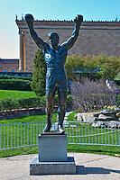 Rocky Bronze Statue, Phila. Art Museum, Philadelphia, Pennsylvania, USA