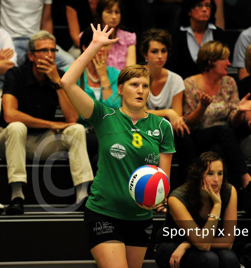 Hermes Oostende : Marjon Willaert.foto VDB / BART VANDENBROUCKE