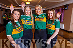 "Taking part in the Kerry Camogie ""Stars in their Eyes"" fundraiser. L-r, Brid Horan, Saoirse Sheehy, Aoife Godley and Sarah McCarthy."