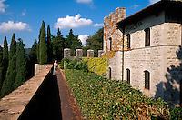 Italien, Toskana, Brolio in Chianti, Castello