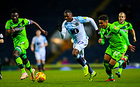 Blackburn Rovers' Amari'i Bell takes on Norwich City's Alexander Tettey and Max Aarons<br /> <br /> Photographer Alex Dodd/CameraSport<br /> <br /> The EFL Sky Bet Championship - Blackburn Rovers v Norwich City - Saturday 22nd December 2018 - Ewood Park - Blackburn<br /> <br /> World Copyright © 2018 CameraSport. All rights reserved. 43 Linden Ave. Countesthorpe. Leicester. England. LE8 5PG - Tel: +44 (0) 116 277 4147 - admin@camerasport.com - www.camerasport.com