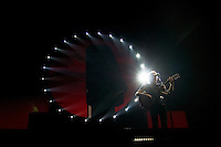 """Roger Waters performs Pink Floyd's """"The Wall: Live"""" in its entirety to a near capacity crowd, May 26, 2012, at Vancouver's recently renovated BC Place (Scott Alexander/pressphotointl.com)"""