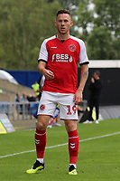 Fleetwood Town's Gethin Jones in action<br /> <br /> Photographer David Shipman/CameraSport<br /> <br /> The EFL Sky Bet League One - Oxford United v Fleetwood Town - Saturday August 11th 2018 - Kassam Stadium - Oxford<br /> <br /> World Copyright &copy; 2018 CameraSport. All rights reserved. 43 Linden Ave. Countesthorpe. Leicester. England. LE8 5PG - Tel: +44 (0) 116 277 4147 - admin@camerasport.com - www.camerasport.com