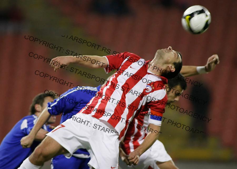 Fudbal, Super liga, season 2008/09.Crvena Zvezda Vs. Hajduk (Kula).Nenad Milijas.Beograd, 12.10.2008..foto: Srdjan Stevanovic ©