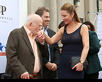 LOS ANGELES - JUN 1:  Ed Asner, Josie Davis at the 7th Annual Ed Asner Poker Tournament at the CBS Studio Center on June 1, 2019 in Studio City, CA