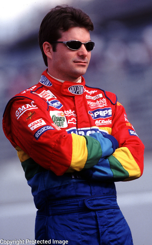 Jeff Gordon , Darlington, March 2000. (Photo by Brian Cleary)