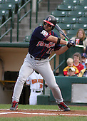 July 12, 2003:  Andy Abad of the Pawtucket Red Sox, Class-AAA affiliate of the Boston Red Sox, during a International League game at Frontier Field in Rochester, NY.  Photo by:  Mike Janes/Four Seam Images