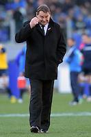 Steve Hansen All Blacks coach.<br /> Roma 12/11/2016, Stadio Olimpico<br /> Test Match 2016<br /> Italia vs All Blacks - Italy vs All Black (New Zeland)<br /> Foto Antonietta Baldassarre / Insidefoto
