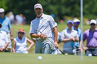 Ryan Palmer (USA) chips on to 2 during round 2 of the AT&amp;T Byron Nelson, Trinity Forest Golf Club, at Dallas, Texas, USA. 5/18/2018.<br /> Picture: Golffile | Ken Murray<br /> <br /> <br /> All photo usage must carry mandatory copyright credit (&copy; Golffile | Ken Murray)