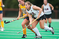 STANFORD, CA - September 19, 2010:  Katherine Donner during the Stanford Field Hockey game against Cal in Stanford, California. Stanford lost 2-1.