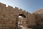 """Israel, Jerusalem, The """"New Gate"""" of the Old City<br />"""
