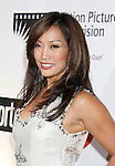 LOS ANGELES, CA. - November 08: Actress/Dancer Carrie Ann Inaba .Nigel Lythgoe and Carrie Ann Inaba .Nigel Lythgoe and Carrie Ann Inaba  arrives at The 4th Annual A Fine Romance to Benefit The Motion Picture & Televison Fund at Sony Pictures Studios on November 8, 2008 in Culver City, California.