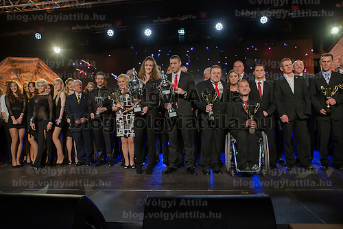 Hungary's best sportsmen attend the Sports Stars Gala held in Budapest, Hungary on December 18, 2014. ATTILA VOLGYI