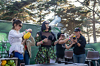 SAN FRANCISCO, CALIFORNIA - AUGUST 09: Grass Lands - Fans / Atmosphere during the 2019 Outside Lands music festival at Golden Gate Park on August 09, 2019 in San Francisco, California.    <br /> CAP/MPI/ISAB<br /> ©ISAB/MPI/Capital Pictures