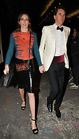 Lady Alice Manners and Otis Ferry at the Fendi Reloaded capsule collection launch party, Lost Rivers, Leake Street, London, England, UK, on Thursday 12 April 2018.<br /> CAP/CAN<br /> &copy;CAN/Capital Pictures