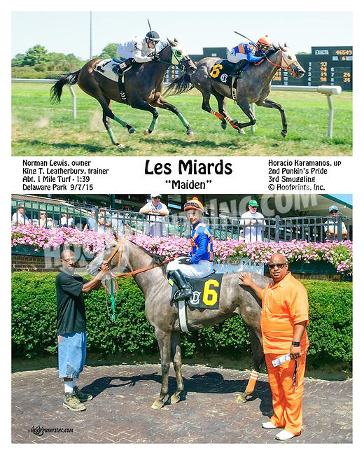 Les Mirades winning at Delaware Park on 9/7/15