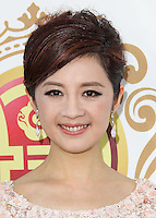 HOLLYWOOD, LOS ANGELES, CA, USA - JUNE 01: Olivia Xu at the 12th Annual Huading Film Awards held at the Montalban Theatre on June 1, 2014 in Hollywood, Los Angeles, California, United States. (Photo by Xavier Collin/Celebrity Monitor)