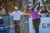 Moriya Jutanugarn (THA) during the third round of the ISPS Handa Women&rsquo;s Australian Open, The Grange Golf Club, Adelaide SA 5022, Australia, on Saturday 16th February 2019.<br /> <br /> Picture: Golffile | David Brand<br /> <br /> <br /> All photo usage must carry mandatory copyright credit (&copy; Golffile | David Brand)