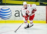 2 January 2011: Ohio State University Buckeye defenseman Chris Reed, a Senior from  Solon, Ohio, in action against the Army Black Knights at Gutterson Fieldhouse in Burlington, Vermont. The Buckeyes defeated the Black Knights 5-3 to win the 2010-2011 Catamount Cup. Mandatory Credit: Ed Wolfstein Photo