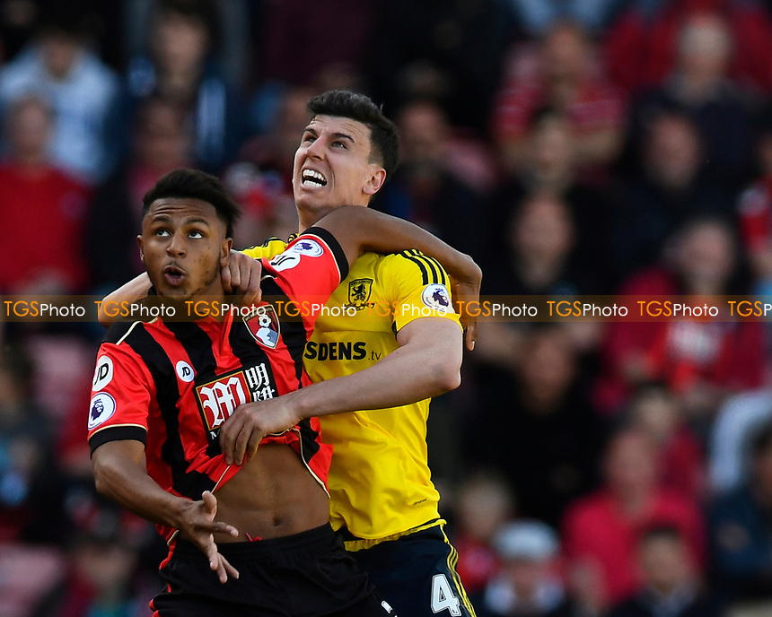 during AFC Bournemouth vs Middlesbrough, Premier League Football at the Vitality Stadium on 22nd April 2017