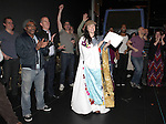 Cameron Adams ('Nice Work If You Can Get It' ).attending the Broadway Opening Night Gypsy Robe Ceremony honoring  Dennis Stowe in 'LEAP OF FAITH' on 4/26/2012 at the St. James Theatre in New York City.