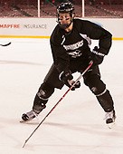 Garrett Gamez (PC - 13) - The Providence College Friars practiced at Fenway on Friday, January 6, 2017, in Boston, Massachusetts.
