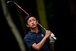 Rui Heng Xiong of China in action during the 9th Faldo Series Asia Grand Final 2014 golf tournament on March 19, 2015 at Faldo course in Mid Valley clubhouse in Shenzhen, China. Photo by Xaume Olleros / Power Sport Images