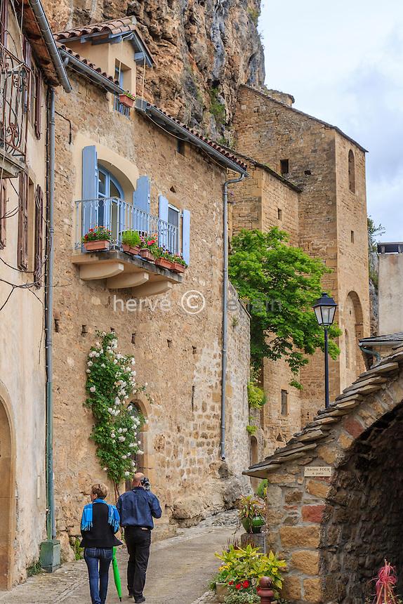 France, Aveyron (12), Peyre, labellisé Les Plus Beaux Villages de France // France, Aveyron, Peyre, labelled Les Plus Beaux Villages de France (The most beautiful villages of France)