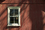 Long Square Farm 1801.Lycoming County.Shed window and texture.