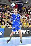 Gummersbachs Vukovic, Drago am Ball beim Spiel in der Handball Bundesliga, Rhein Neckar Loewen - VfL Gummersbach.<br /> <br /> Foto &copy; PIX-Sportfotos *** Foto ist honorarpflichtig! *** Auf Anfrage in hoeherer Qualitaet/Aufloesung. Belegexemplar erbeten. Veroeffentlichung ausschliesslich fuer journalistisch-publizistische Zwecke. For editorial use only.
