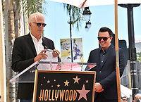 LOS ANGELES, USA. April 23, 2019: Seth MacFarlane & Ted Danson at the Hollywood Walk of Fame Star Ceremony honoring actor, animator and comedian Seth MacFarlane.<br /> Picture: Paul Smith/Featureflash