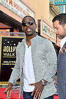 LOS ANGELES, CA. March 25, 2019: Sterling K. Brown at the Hollywood Walk of Fame Star Ceremony honoring actress & singer Mandy Moore.<br /> Pictures: Paul Smith/Featureflash