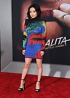 "05 February 2019 - Westwood, California - Lana Condor. ""Alita: Battle Angel"" Los Angeles Premiere held at Regency Village Theater. Photo Credit: Birdie Thompson/AdMedia"