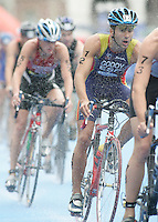 31 AUG 2007 - HAMBURG, GER - Francesc Godoy (ESP) - Under 23 Mens World Triathlon Championships. (PHOTO (C) NIGEL FARROW)