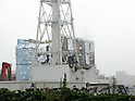 September 15, 2011, Okumamachi, Japan - The Unit 4 reactor building is seen at Fukushima No. 1 nuclear power plant in Okumamachi, Fukushima Prefecture, some 210km northeast of Tokyo, on Thursday, September 15, 2011. The photo was released by the plant operator Tokyo Electric Power Co., in Tokyo on September 17. (Photo by TEPCO/AFLO) [0006] -mis-